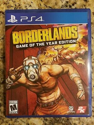 Borderlands Game Of The Year Edition (PS4)