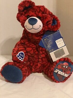 BUILD A BEAR Marvel UnStuffed Spiderman  1st Edition 2015 NEW WITH TAGS HTF
