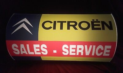 Citroen,ds,sm,bx,cx,vintage,old,j,classic,mancave,lightup sign,garage,workshop,2