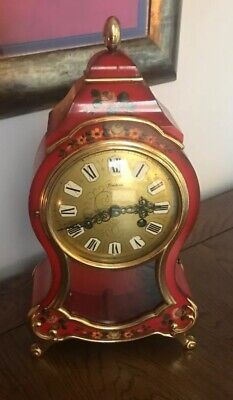 Swiss Comtesse Neuchatel Bell Strike Mantle/Shelf Clock, Needs serviced