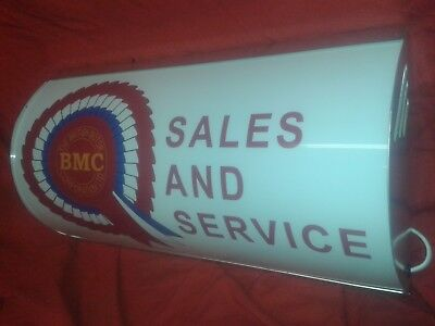 BMC,austin,mini,mg,leyland,morris,garage,oil,light up,sign,mancave,50s,60s,70s,2