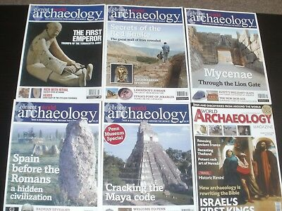 Current World Archaeology Magazines Issues 26 - 31