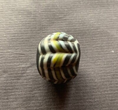 Alte Glasperle, ,Old Glass Bead Indonesien Java China Tibet Nepal Buddha 190