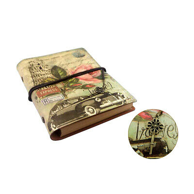 Vintage Retro Journal Travel Diary Notepad Leather Cover Blank Note Book