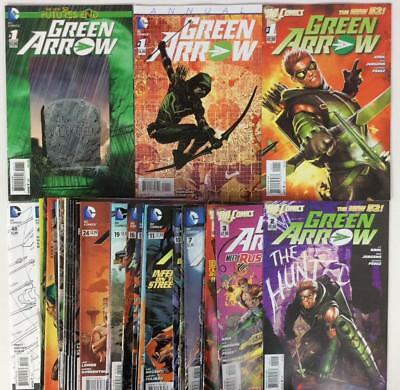 Green Arrow #1 to #48 (2 missing) + Annual + 1 Shot (DC 2011) 48 x issues