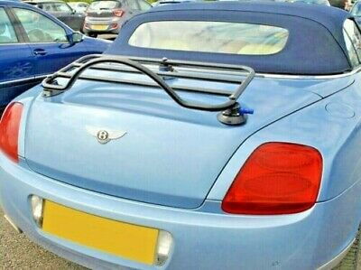 Bentley Continental Convertible Trunk Boot Luggage Rack ; No Clamps No Damage