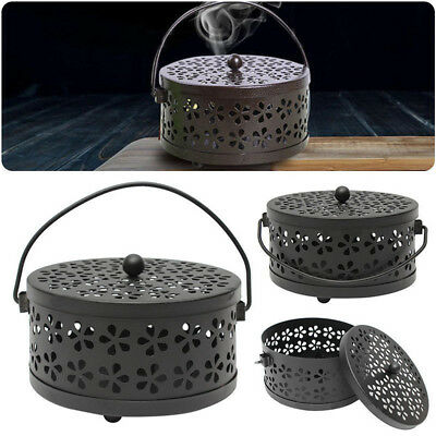 Metal Mosquito Mozzie Coil Holder Burner Repellant Home Garden Decor Outdoor 77