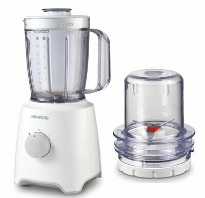 Kenwood Blp302Wh Blender And Mill, White, 450W, 1.6L, 2-Speed (N)