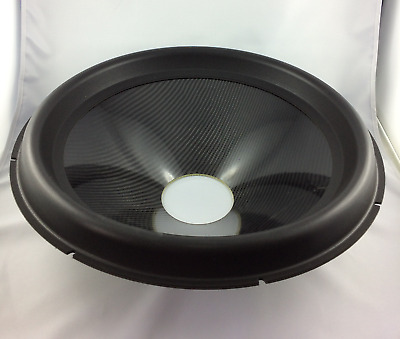 "18"" Subwoofer Speaker Sandwich Carbon Cone with surround"