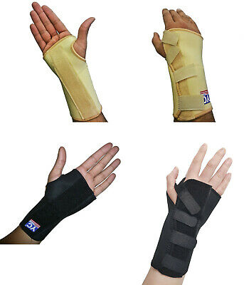 Carpal Tunnel Splint Wrist Brace Hand Support Fractures Right Left S M L NHS YC