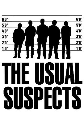 The Usual Suspects:Movie Poster#3:Laminated:A4:!!!!Buy 2 Get 3 FREE!!!!!!!!!