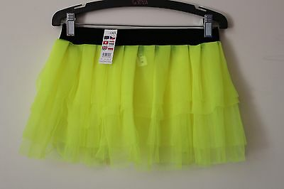 Neon Tutu M-L 10-12 Yrs New with Tags Ladies Girls Skirt