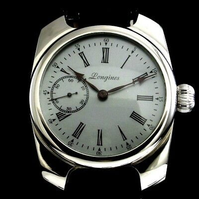 Longines Vintage Mens Wristwatch Noble Design Mechanical Men's Wrist Watch Swiss