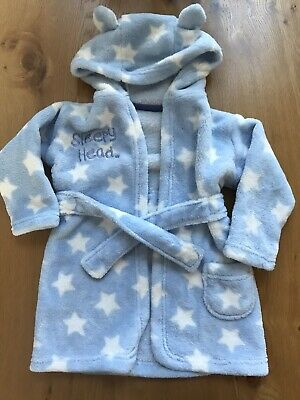 Baby Boy 6-12 Months Dressing Gown