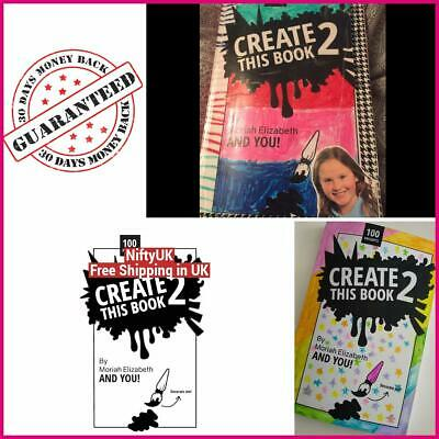 Create This Book 2 Volume 2 Moriah Elizabeth Paperback Fun Inspirational Books