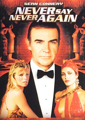 Never Say Never Again (DVD, 1983) Sean Connery NEW SEALED!!!