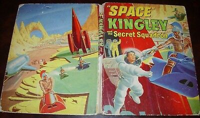 SPACE KINGLEY AND THE SECRET SQUADRON-VINTAGE 1950's SCI-FI