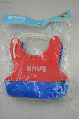 or Green Super Cute NEW Waterproof Silicone Baby Bibs Red Blue