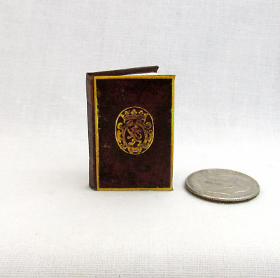 THE SHERBORNE MISSAL Medieval Miniature Book Dollhouse 1:12 Scale Prayer Latin