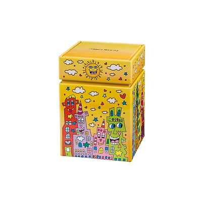 "James Rizzi: Künstlerdose, Metall Dose ""CITY SUNSET"", Goebel, neu"