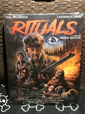 Rituals (Blu-Ray, 2018) Scorpion W/Slipcover, Hal Holbrook, NEW, Free S&H In USA