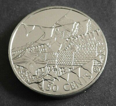 2002 Cook Islands- 50 Cents -crown size coin-BUNC