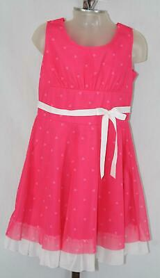 American Girl Girls Christmas Xmas Holiday Party Dressy Pink Dress Size 10