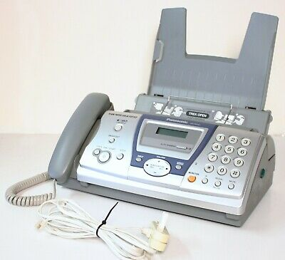 Fax Machine Plain Paper Panasonic KX-FP141 Phone / Fax Machine