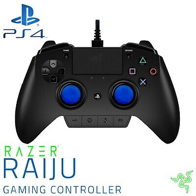 GENUINE OFFICIAL SONY PS4 Razer Raiju Gamepad Pro Controller Playstation 4  & PC