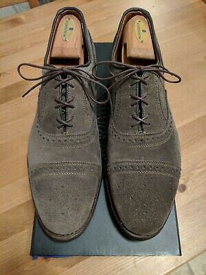 3ea5d80faaed6 ALLEN EDMONDS TAUPE Strand Suede 10.5D Men's Oxfords - $150.00 ...