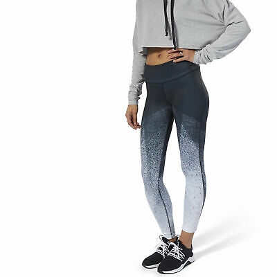 1e5691bffd324 REEBOK LUX BOLD 7/8 Tight -All Over Print Chalk Green Large - $41.67 ...