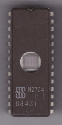 SGS M2764A eprom cmos 28 pin dil