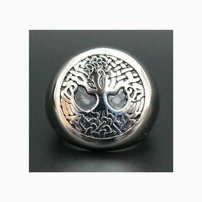 Ring For Men Big The Tree Of Life Punk Top Quality Stainless Steel Biker Rock