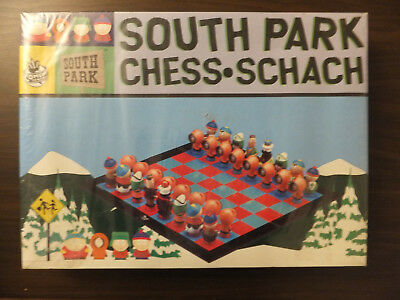 South Park Chess Set. Comedy Central Un-used in original sealed box.