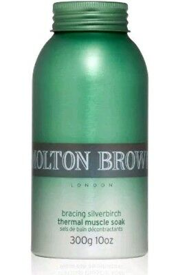 Molton Brown Bracing Silverbirch Thermal Muscle Soak 300g Clearance