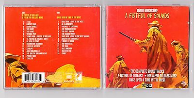 Ennio Morricone - A Fistful Of Sounds 2CD - Deluxe  - OOP