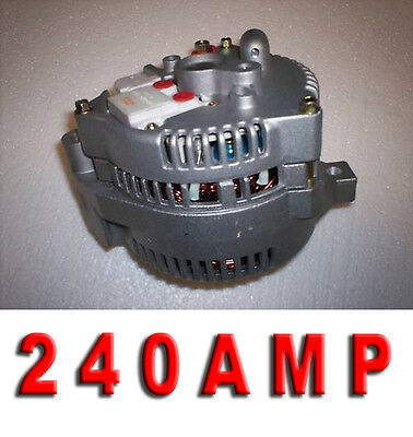 240 HIGH AMP FORD MUSTANG BRONCO 1-WIRE 3G NEW ALTERNATOR 1965 1979 Generator