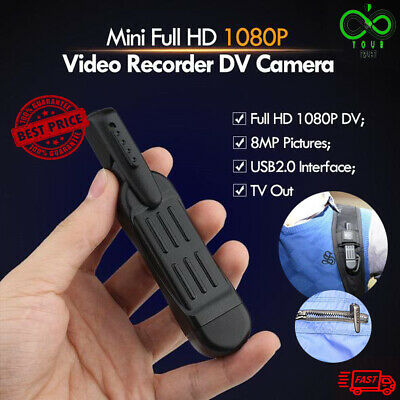 ActionCam™ MINI FULL HD Video and Audio Recorder