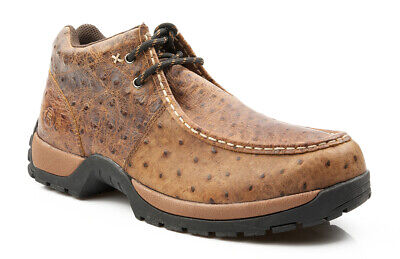 a0e9ffe9093 ROPER MENS QUALITY Faux Ostrich Comfort Slip On Great Cond Preowned ...