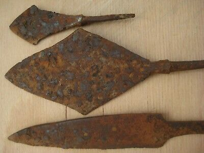 ANCIENT Iron  ARROWHEAD  KNIFE Viking Kievan Rus 10-12 century AD