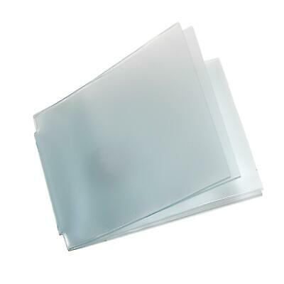 New Buxton Vinyl Window Inserts for Billfold Wallets with Wing Bar (Pack of 5)
