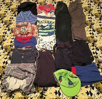 2-3 years boys clothes bundle 16 pice,all is GC,from next,Ted baker,F&F,George