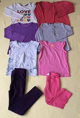 6-7 years girls tops & Trousers bundle 8 pice GC Next,M&S,F&F etc