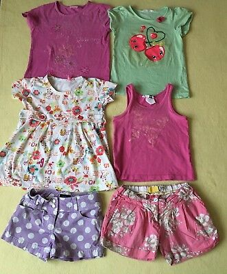 4-6,5 years girls clothes bundle 6 pice all is GC H&M,Mini Boden etc.