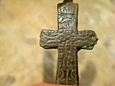 ANCIENT ENCOLPION CROSS Viking Kievan Rus 10-12 century AD