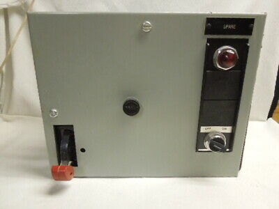 GE Motor Control Center Unit Bucket Model 8000 3PH Size 1 10HP 568X0101L04 NSO