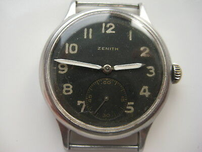 1942 Military Wristwatch German Army Zenith DH WWII