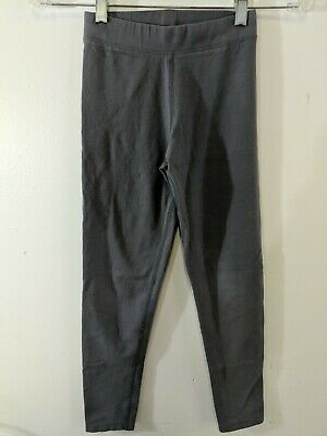 C4 Primary.Com Girls Leggings Stretch Knit Grey Gray Ankle Length size 8