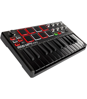 Akai Professional MPK Mini MKII Limited Edition Black on Black
