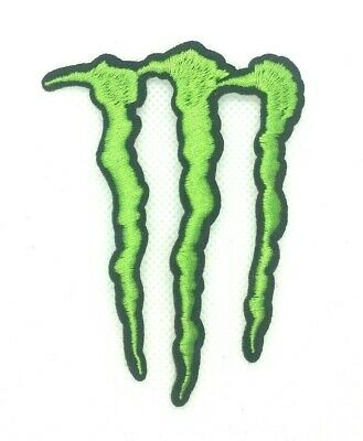 Patch MONSTER ENERGY  Embroidered sew Iron On Patches  Applique Patch 337